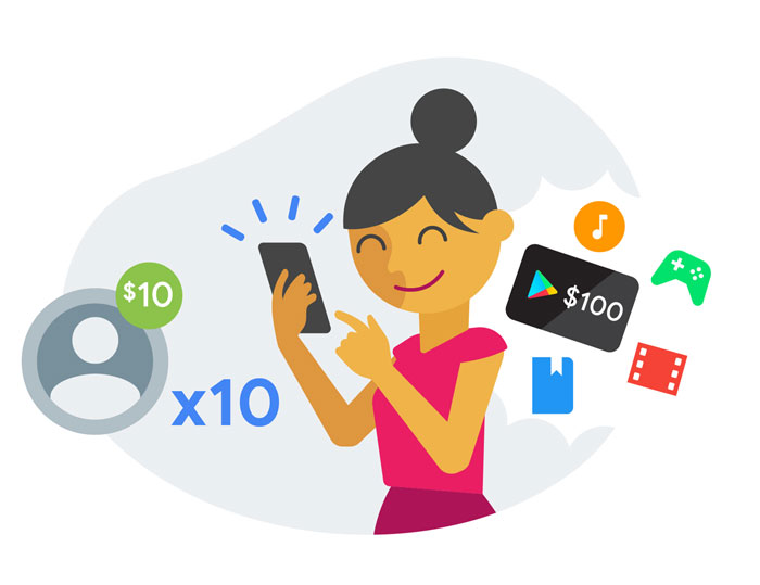 promotions and exclusive offers google pay
